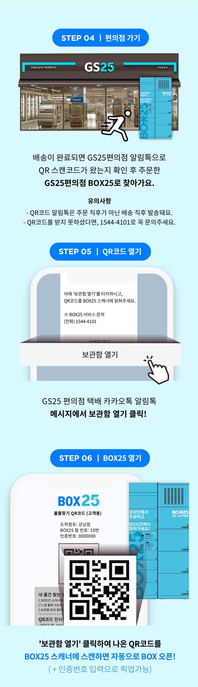 GS25 프코스팟 이용방법